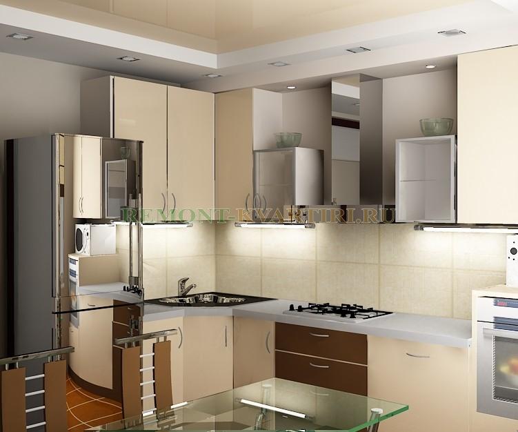 Дизайн кухни 3d