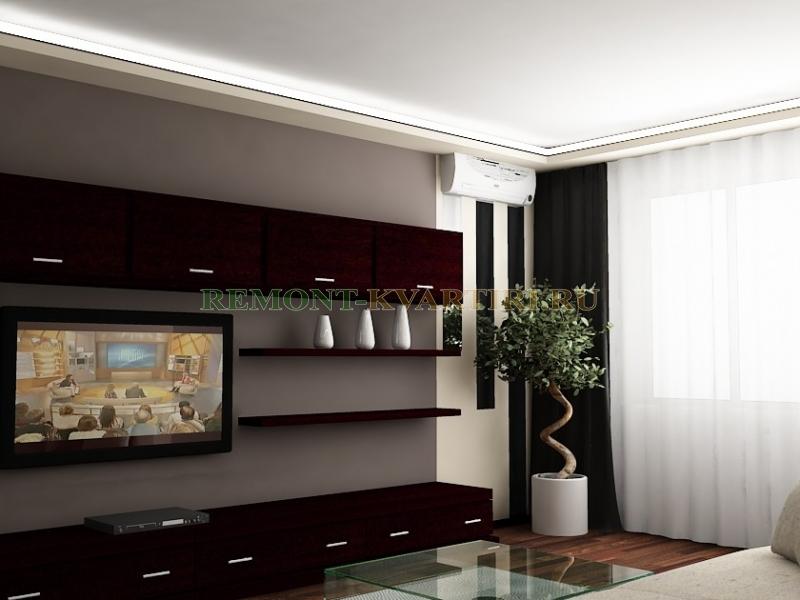 Дизайн 2-х комнатной квартиры копэ-м-парус