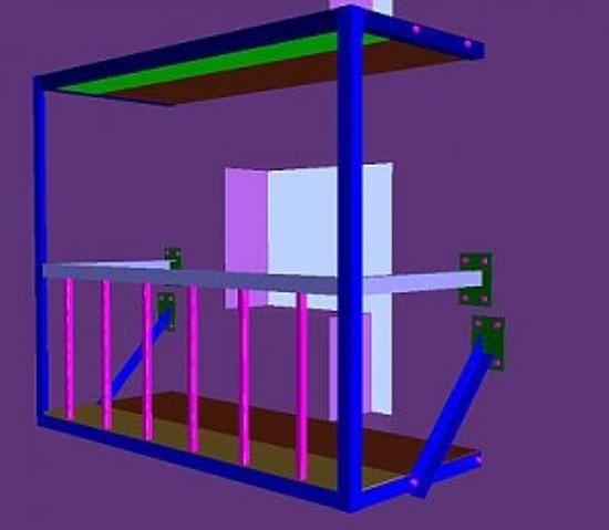 Как лучше и проще расширить и закрыть балкон?.